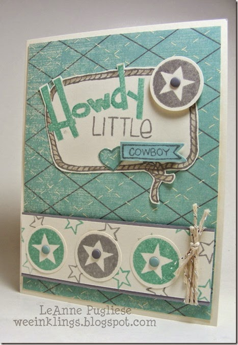 LeAnne Pugliese WeeInklings YeeHaw Stampin Up