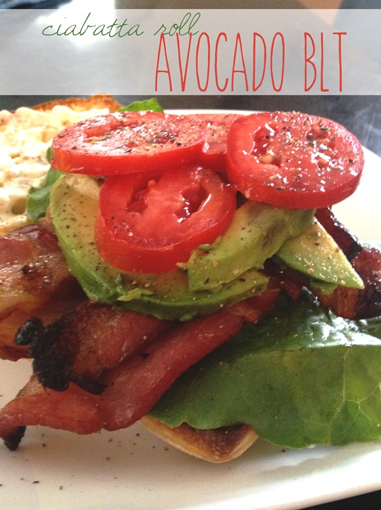 Avocado BLT2