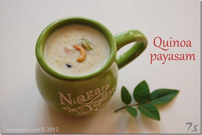 Quinoa payasam