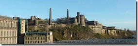 Calton Hill from Bridges