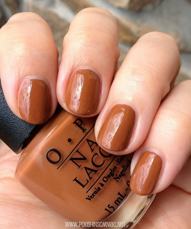OPI A-Piers to be Tan 3