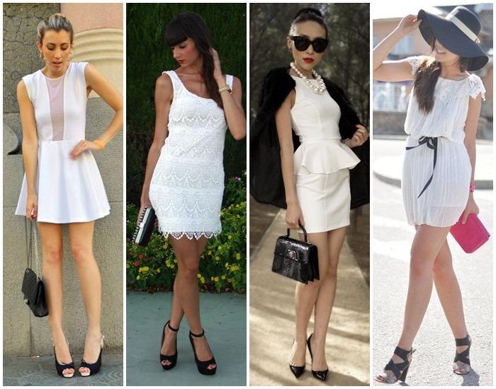 moda preto e branco looks - como usar 05