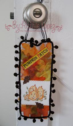 Jackson's Digital Expressions - Pumpkin image - Door hanger 2