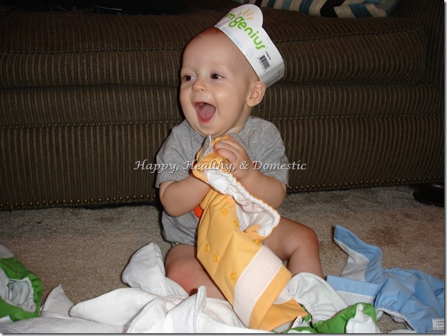earth day tip cloth diaper