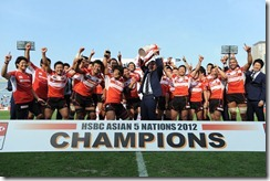 2012-Japan celebrate 5th HSBC A5N Top 5 Title