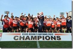 2012-Japan celebrate 5th HSBC A5N Top 5 Title