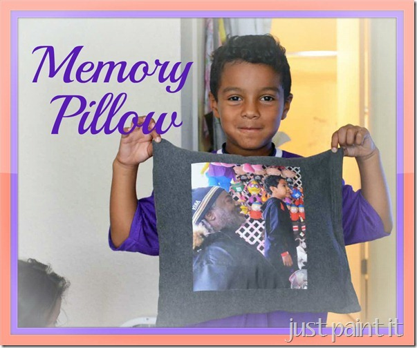 Special Memory Pillow