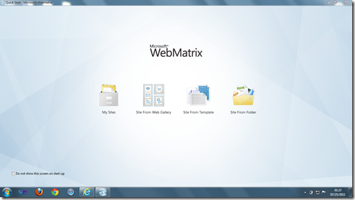 WebMatrix