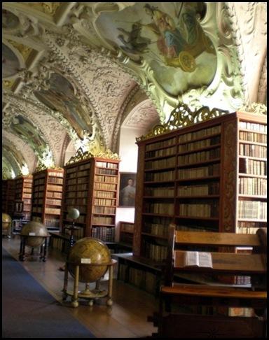 Monastère de Strahov - Bibliothèque théologique, Prague, République tchèque -1