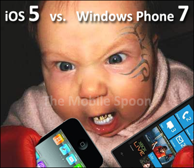 iOS vs wp7 - The Mobile Spoon