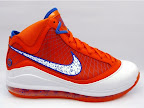 hardwood lebron7 orange 01 First Look at Nike LeBron X Low   Cavs Hardwood Classic?!
