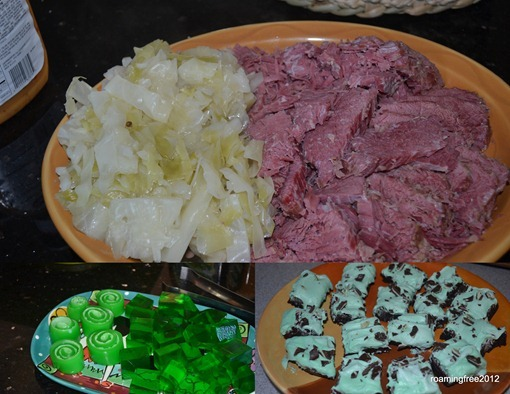 St Patricks Day Feast