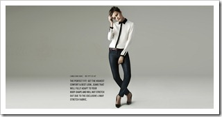 Zara Woman Ankle Raw Jean
