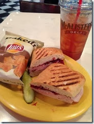 McAlisters Turkey Cranberry Griller