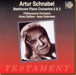 Beethoven concierto piano 2 Schnabel Dobrowen