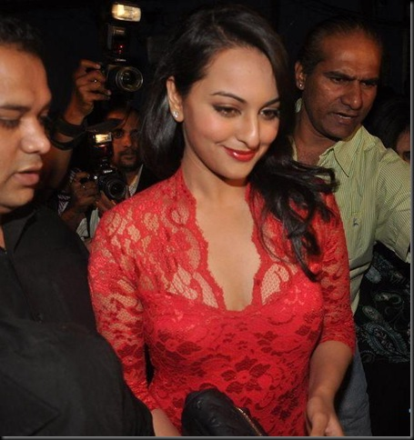 Sonakshi Sinha at FHM anniversary celebrations