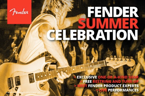 2014 Fender Summer Tour Facebook