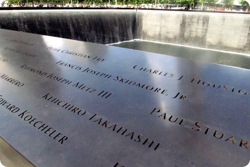 9-11 Memorial with Evan and Elise