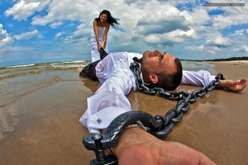 Międzywodzie - ślub na plaży