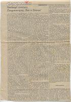 1948 Krantenknipsel Geslaagd concours Zangvereniging 'Een in Streven' Beerzerveld
