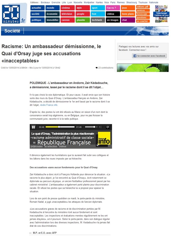 racisme administratiu de classa sociala République Française