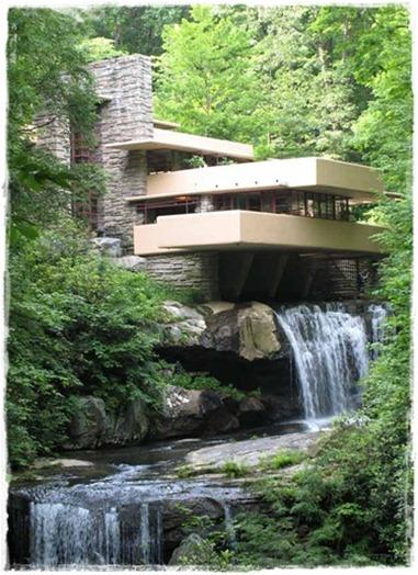 10 falling water frank lloyd wright pennsylvania