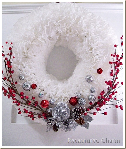 Coffee Filter Christmas Wreath2 018a
