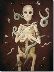 Schelet uman pictura