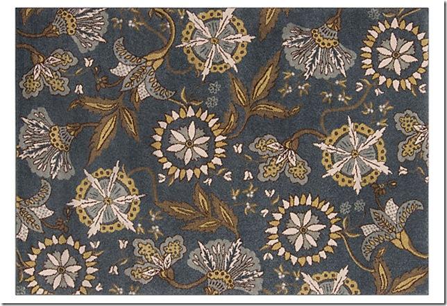 rug hayden rug blue