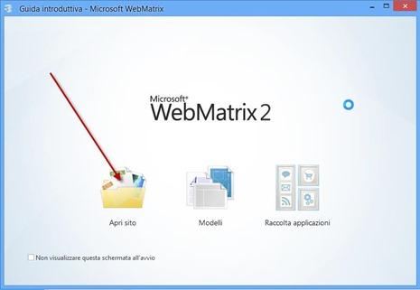 web-matrix-microsoft