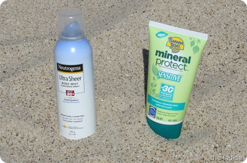Summer Beauty Essentials - Sunscreen - Neutrogena Ultra Sheer Body Mist Spray - Banana Boat Mineral Protect Lotion (1)