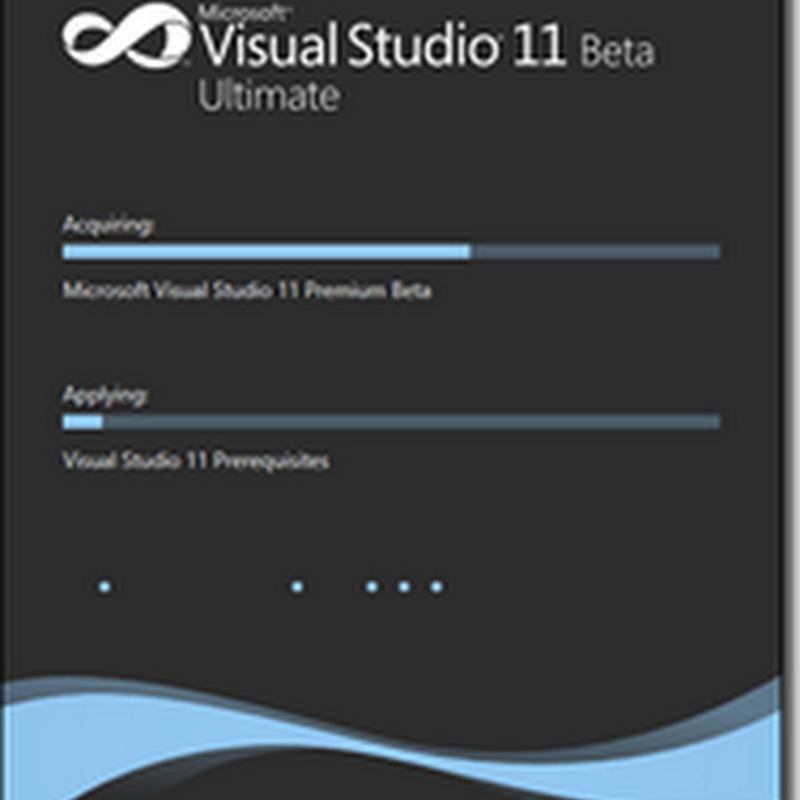 Visual Studio 11 Ultimate Download