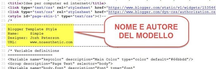 nome-modello-blogger