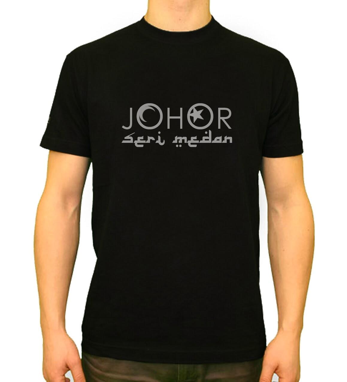 Design t shirt johor - Design T Shirt Johor T Shirt Johor Seri Medan