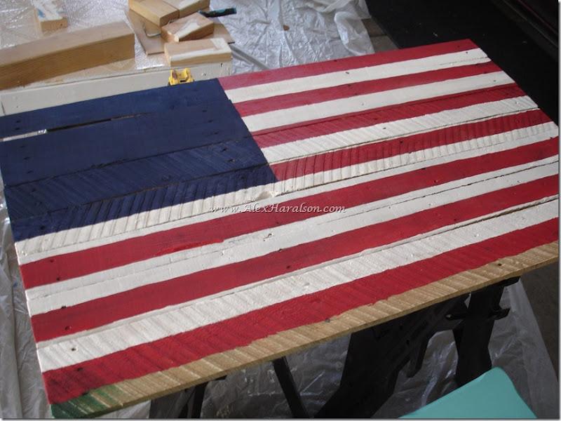 Pallet Wood American Flag8