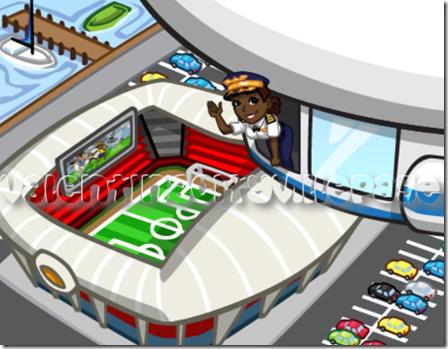 stadio da calcio europeo
