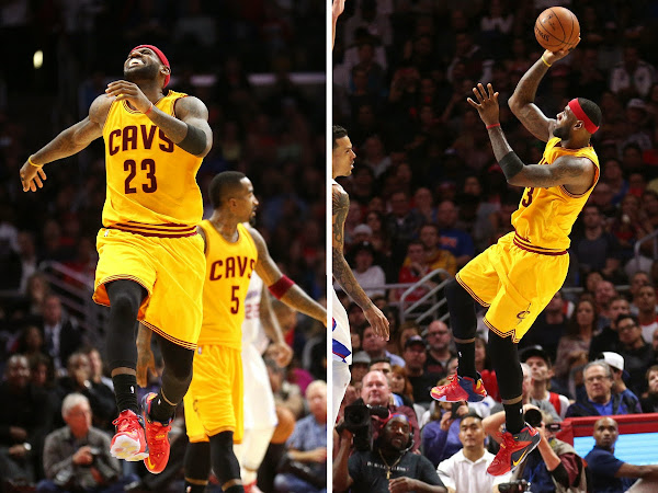 King James Burns Clippers Debuts 19th LeBron 12 Colorway