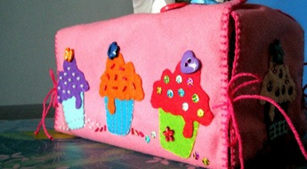 Felt Tissue Box Cover (3)