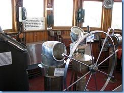 5144 Michigan - Sault Sainte Marie, MI - Museum Ship Valley Camp - wheelhouse