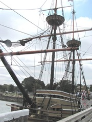 Plymouth Mayflower 8.13 2 crows nest