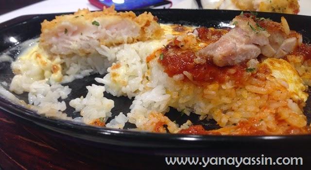 Kungfu Bake Rice