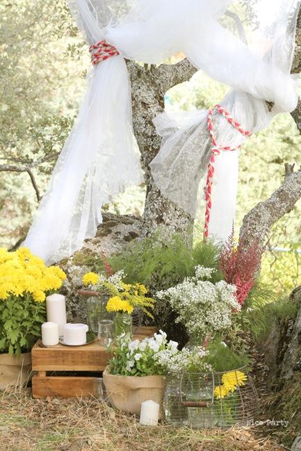 Semplicemente Perfetto Wedding Dettagli Naturali Party Decorazioni 02