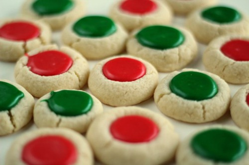 Christmas Thumbprint Cookies at Lil Luna