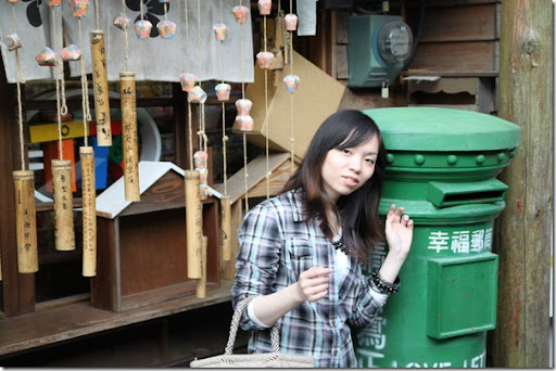 菁桐車站-郵筒