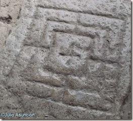 San Esteban de Eusa - tablero grabado en el pórtico