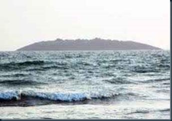 nova ilha que surgiu por terremoto