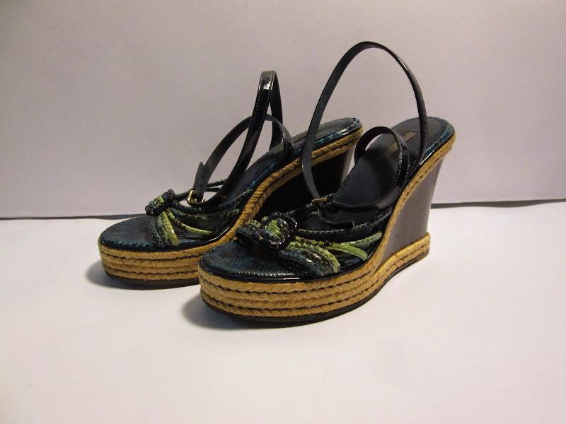 Louis Vuitton Wedge Sandals