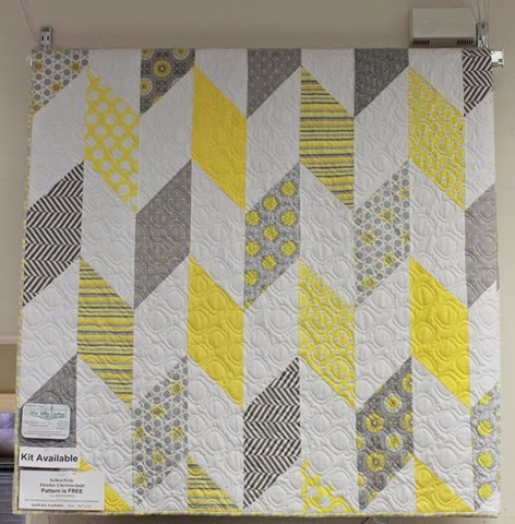 Fletcher Chevron quilt kit
