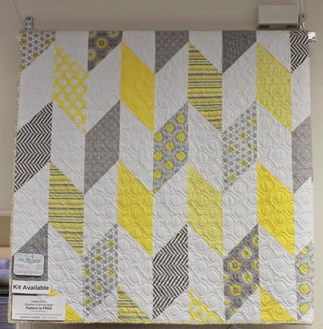 Fletcher Chevron quilt kit