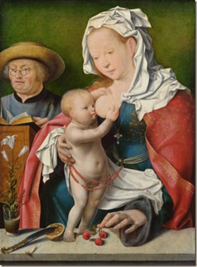 Joos Van Cleve, Vierge à l'enfant